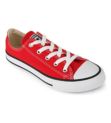 CONVERSE Chuck Taylor all star low 6-9 years (Red