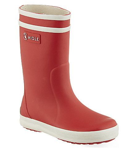 AIGLE Lolly Pop boots 3-8 years (Red