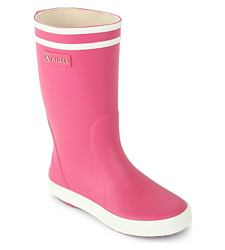 AIGLE Lolly Pop rubber wellies 3-8 years (Pink