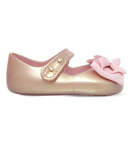 MINI MELISSA My First Mini Melissa mary jane shoes 0-6 months (Gold