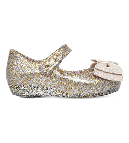 MINI MELISSA Ultragirl ribbon jelly shoes 6 months-5 years (Gold