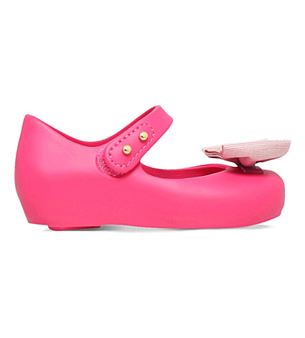 MINI MELISSA Ultragirl jelly mary jane shoes 6 months-5 years (Pink
