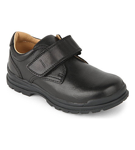 GEOX William leather shoes 3-9 years (Black