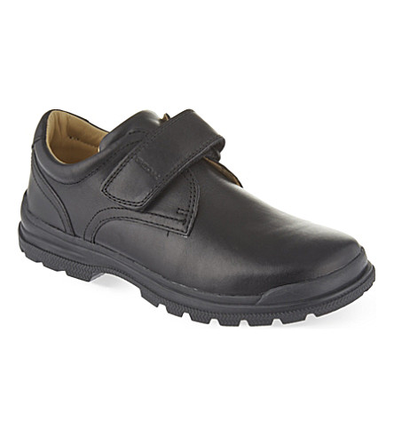 GEOX William leather shoes 8-13 years (Black