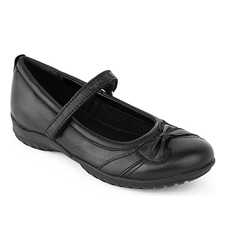 GEOX Shadow leather shoes (Black