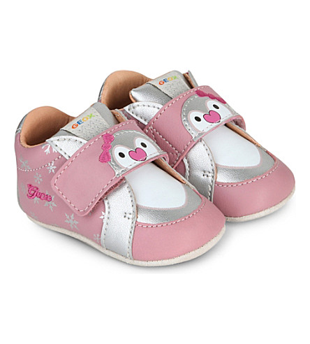 GEOX Ian leather baby shoes 0 12 months