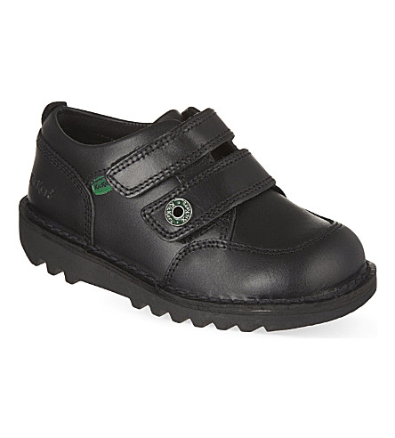 KICKERS Racer shoes 3-7 years (Black