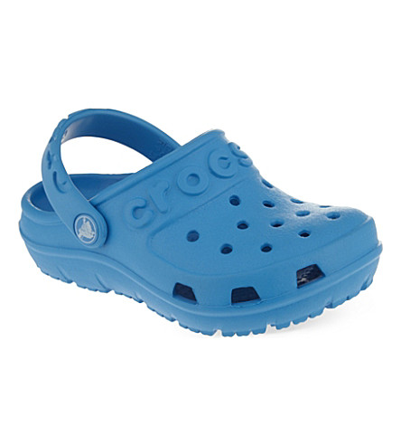 CROCS Hi-Lo clogs 2-9 years (Blue