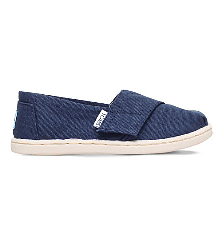 TOMS Classics canvas shoes 3-6 years (Navy