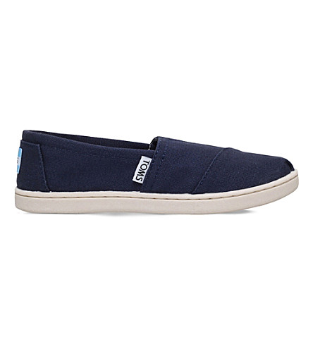 TOMS Classics canvas shoes 7-11 years (Navy