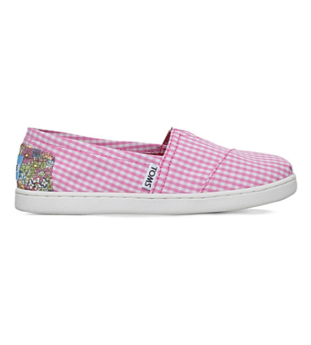 TOMS Seasonal classics canvas shoes 7-11 years (Pink