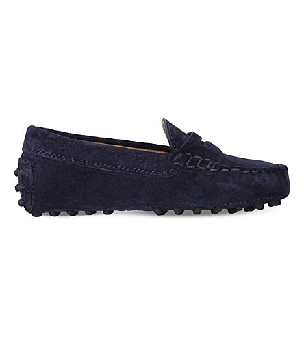 TODS Classic Gommino driving shoes 1-5 years (Blue/dark