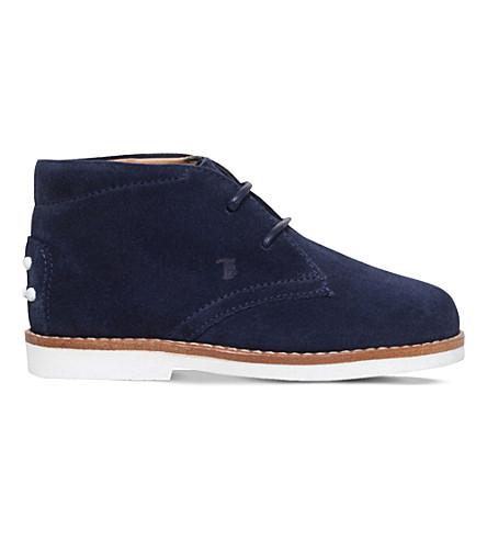 TODS Gom suede desert boots 1-5 years (Navy