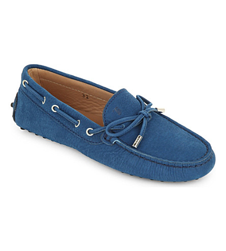 TODS Gom classic loafers 6-9 years (Blue