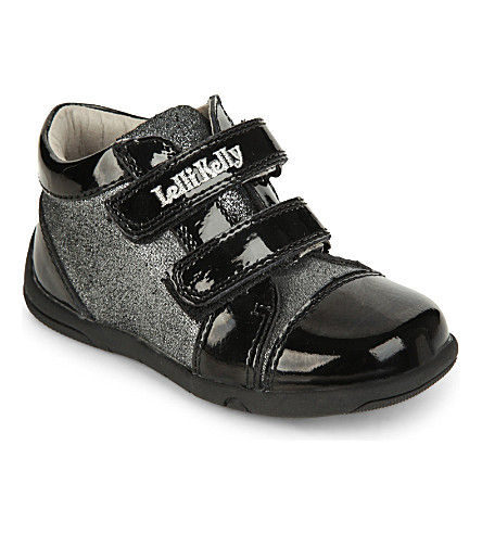 LELLI KELLY Betty glitter trainers 2-5 years (Black