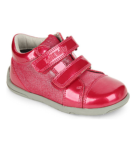 LELLI KELLY Betty glitter trainers 2-5 years (Red