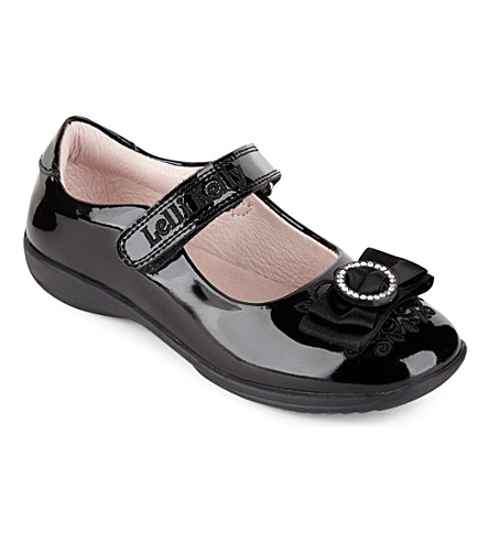 LELLI KELLY Adele patent-leather shoes 3-9 years (Black