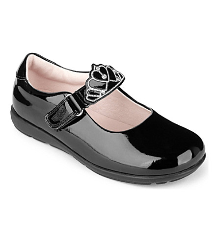 LELLI KELLY Missy patent-leather shoes (Black