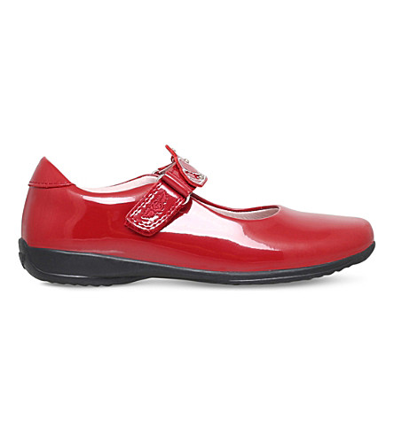 LELLI KELLY Missy patent leather shoes  3-9 years (Red