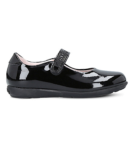 LELLI KELLY Classic patent-leather school shoes 6-9 years (Black