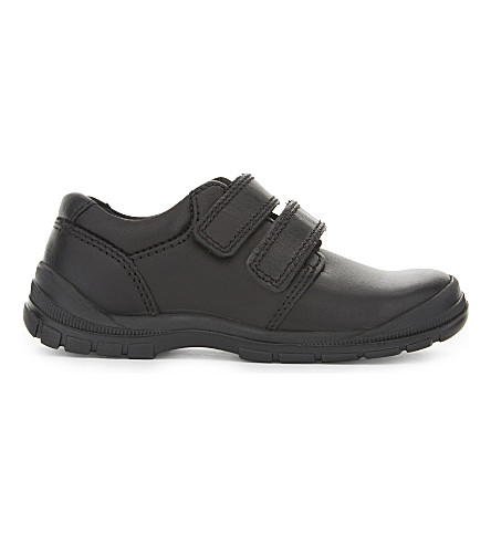 START RITE Engineer leather shoes 5-11 years (Black