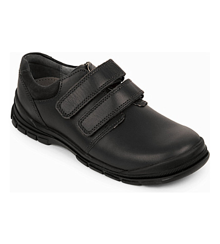 START RITE Engineer leather shoes 5-9 years (Black