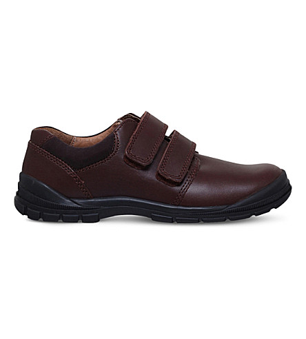 START RITE Engineer leather boys' shoes 5-11 years (Brown