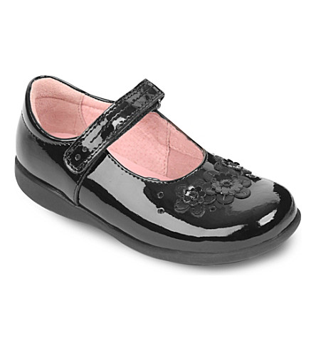 START RITE Fleur shoes 4-8 years (Black