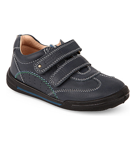 START RITE Flexy soft air leather trainers 2-6 years (Navy