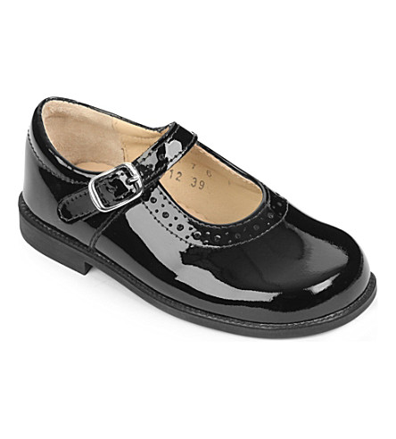 START RITE Louisa leather shoes 2-4 years (Black