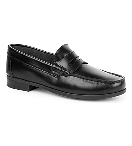 START RITE Penny 2 leather loafers 7 years-young adult (Black