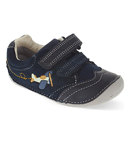 CLARKS Tiny Liam shoes 0-3 years (Navy