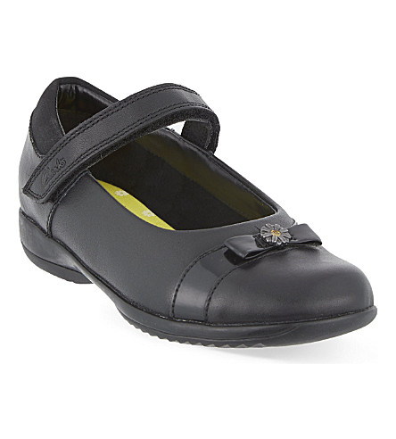 CLARKS Daisy locket Mary Jane shoes 6-7 years (Black