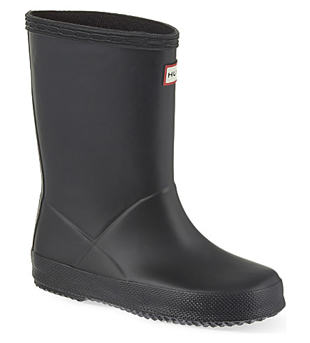 HUNTER Kids first classic Wellies 2-7 years (Black