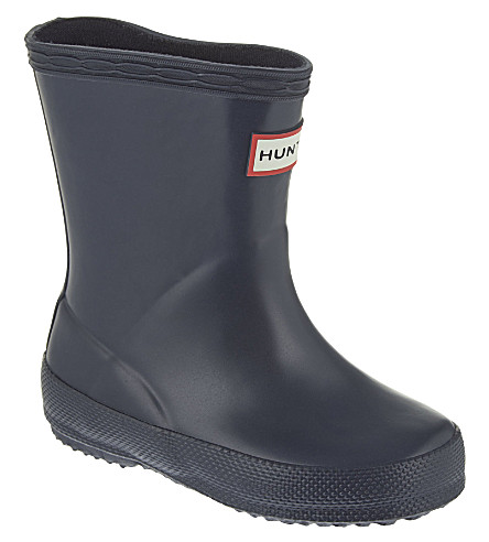 HUNTER Kids first classic Wellies 2-7 years (Navy