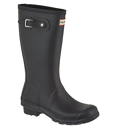 HUNTER Original Kids wellies 7-10 years (Black