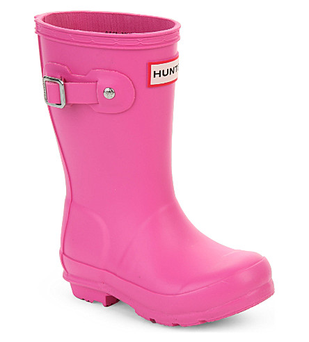 HUNTER Original Kids wellies 3-6 years (Fushia