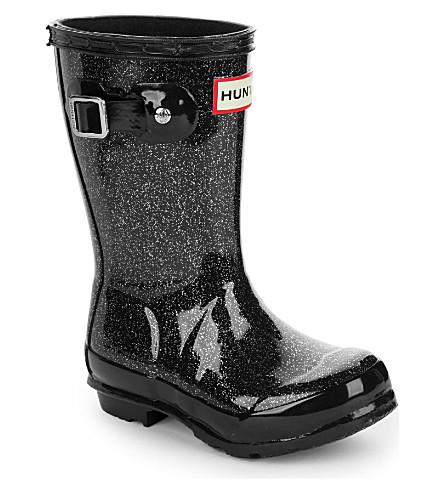HUNTER Original kids glitter rain boots 3-7 years (Navy