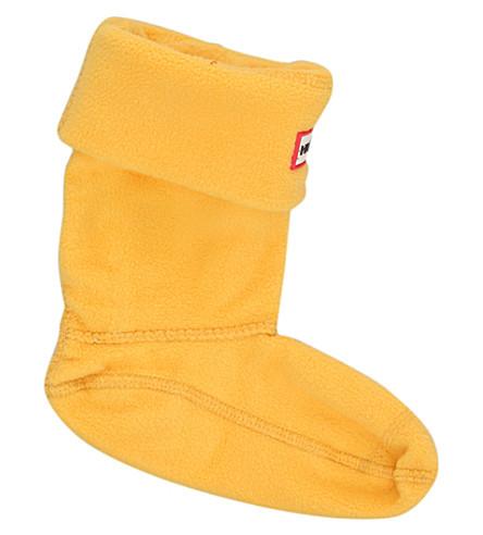 HUNTER Kids boot socks (Yellow