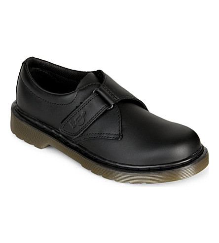 DR MARTENS Jerry leather shoes 6-9 years (Black