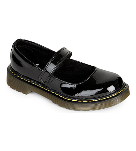 DR MARTENS Maccy patent leather shoes (Black