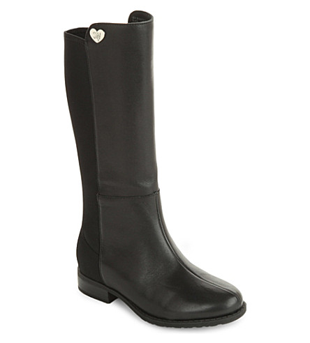 STUART WEITZMAN 50/50 knee-high boots 5-7 years (Black