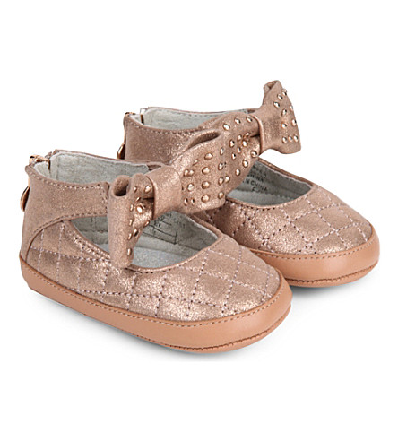 STUART WEITZMAN Baby Nantucket crib shoes 3 6 months