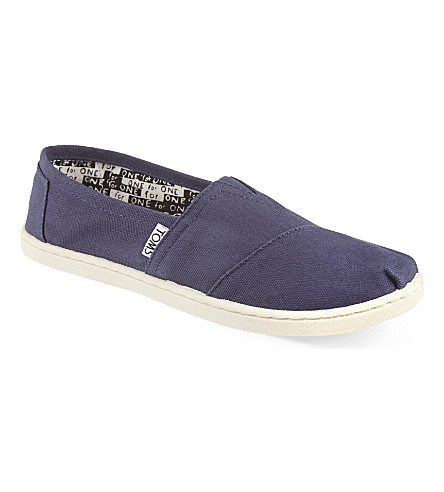 TOMS Classic canvas shoes 6-12 years (Navy