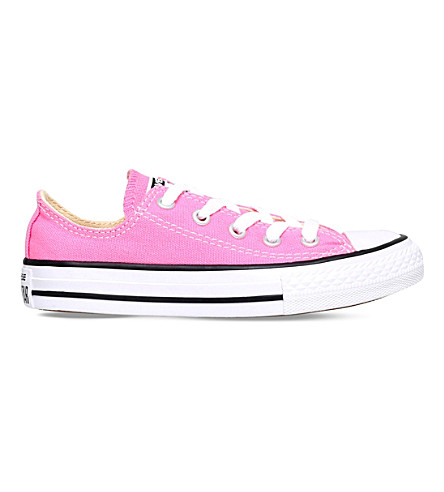 CONVERSE Chuck Taylor All Star low trainers 6-8 years (Pink