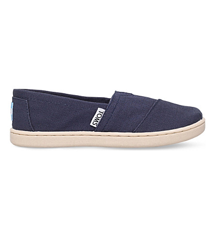 TOMS Classic canvas shoes 6-11 years (Navy