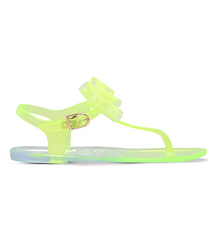 MINI MISS KG Jellybean jelly sandals 5-7 years (Lime