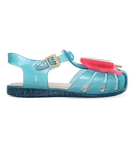MINI MELISSA Aranha lollypop jelly sandals 6 months - 5 years (Turquoise