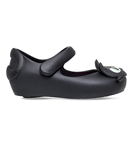 MINI MELISSA Ultragirl Kitty jelly shoes 6 months - 5 years (Black