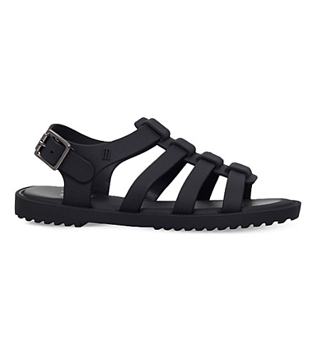 MINI MELISSA Strappy jelly sandals 6-8 years (Black
